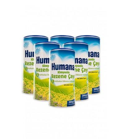 Humana Kimyonlu Rezene Çayı 200Gr X 6 Adet